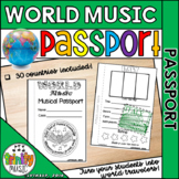 World Music Musical Passport