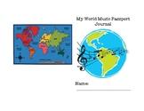 World Music Passport Journal