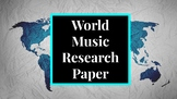 World Music Research Project (UPDATED)