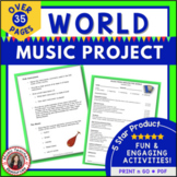 Music Around tbe World  Project and Presentation