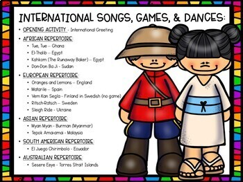 World Music Songs & Games