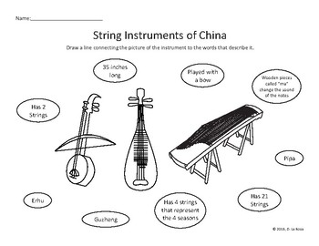 World Music: String Instruments of China / Chinese String Instruments