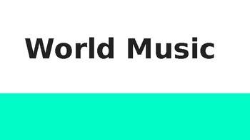 World Music / The Sound of Music