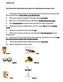 World Music Worksheets - African and Cuban Instruments