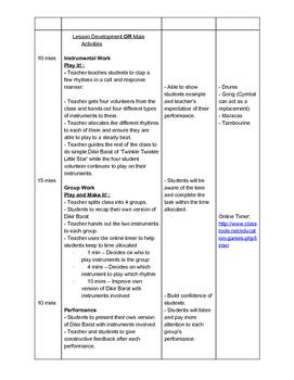 World Music lesson plan bundle