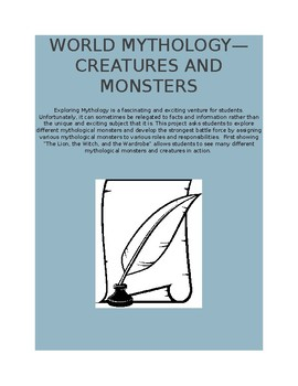World Mythology--Creatures and Monsters