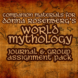 World Mythology Journal and Group Assignment Pack