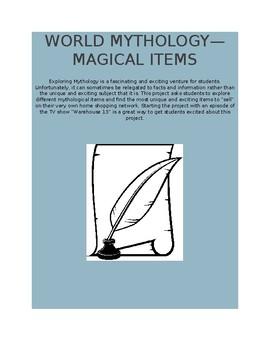 World Mythology--Magical Items
