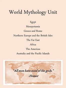 World Mythology Unit