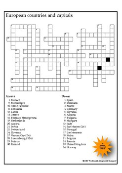 World News Crossword (May 14th, 2017)