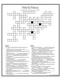 World News Crossword for the week ending November 1st, 2015