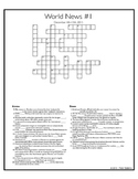 World News Crosswords - December 13th, 2015.