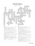 World News Crossword for the week ending September 27th, 2015