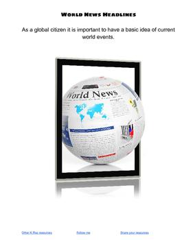 World News Headlines Research