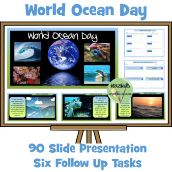 World Ocean Day PowerPoint Presentation and Follow-Up Resource Pack