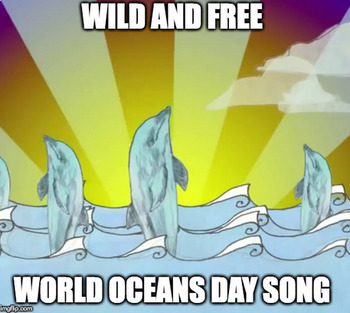 World Oceans Day Song - Karaoke (Sing-Along) Version