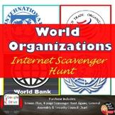 COLD WAR - World Organizations Scavenger Hunt Activity (Print and Digital)