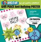 Give Peace a Chance Mindfulness Anti-Bullying Friendship C
