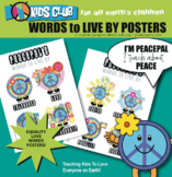 Kindness Peace Inclusion Tolerance SEL Classroom Posters D