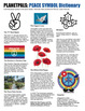 World Peace Symbol & Signs History Lesson & Poster Set Peace Day Everyday