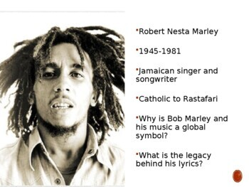 World Poetry Analysis Multimodal: Bob Marley's Redemption Song