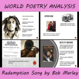 World Poetry Presentation and Script on Bob Marley's Redem