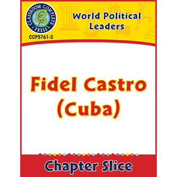 World Political Leaders: Fidel Castro (Cuba) Gr. 5-8