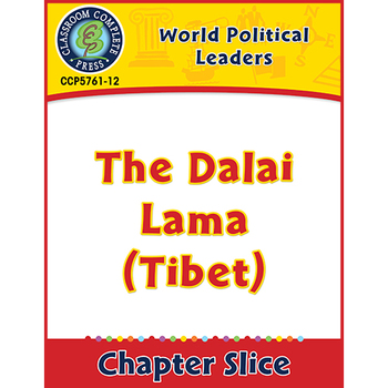 World Political Leaders: The Dalai Lama (Tibet) Gr. 5-8