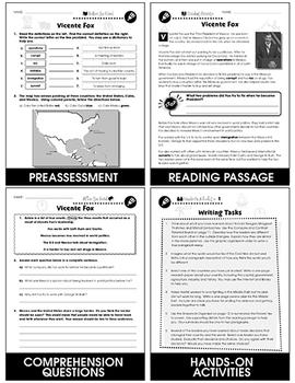 World Political Leaders: Vicente Fox (Mexico) Gr. 5-8