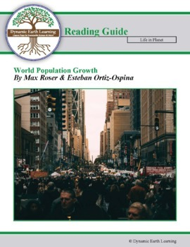 World Population Growth - Article Reading Guide Set