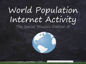 World Population Internet Activity