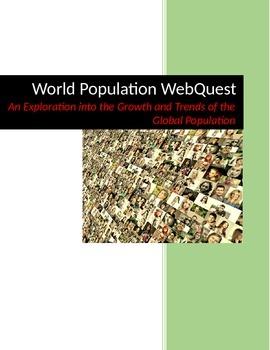 World Population Internet WebQuest