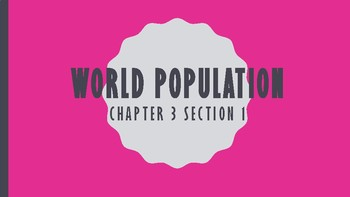World Population Notes