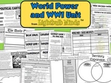 World Power and WWI Unit from Lightbulb Minds