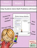 Math Word Problem Activities - Common Core Aligned - Grade 4