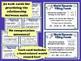 World Records: Filling Foods - measurement units task cards & printables (set a)
