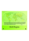 World Regions Interactive Whiteboard