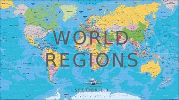 World Regions PowerPoint