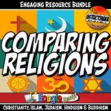 World Religion Bundle Activity & Informational Text Bundle, Comparing Religions