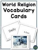 World Religion Vocabulary Task Cards