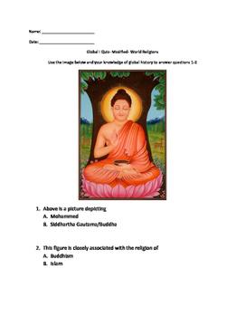 World Religion assessment