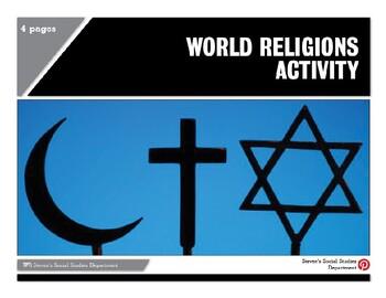 World Religions Activity
