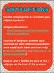 World Religions Brochure