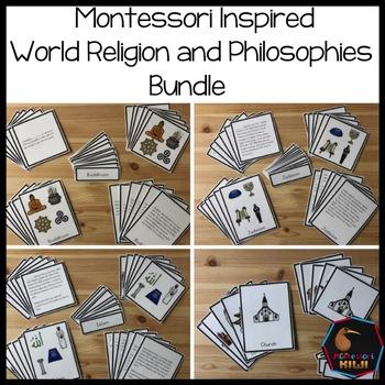 World Religions Bundle, Montessori Inspired