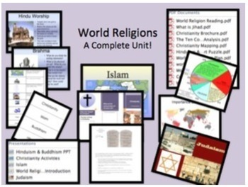 World Religions Complete Unit