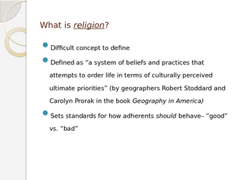 World Religions Comprehensive PowerPoint