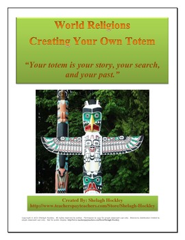 World Religions: Creating Your Own Totem