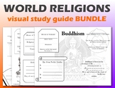 World Religions Visual Study Guide Bundle