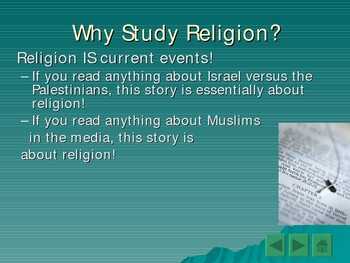 World Religions Introduction and Judaism Basics PowerPoint