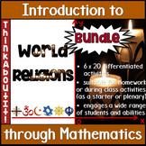World Religions: Introduction to World Religions through Mathematics